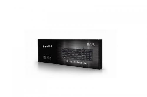 US QWERTY Multimedia toetsenbord – Gembird